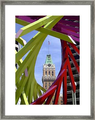 Oakland Tribune Framed Print