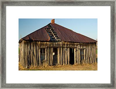 Oalold House Place Arkansas Framed Print by Douglas Barnett