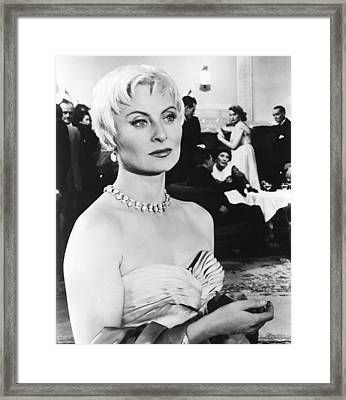 Oasis, Aka Oase, Michele Morgan, 1955 Framed Print by Everett