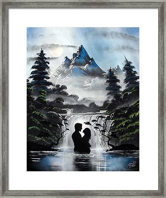 Oasis Blue Framed Print by Brandon McConnell