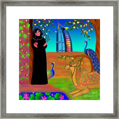Oasis Framed Print by Latha Gokuldas Panicker