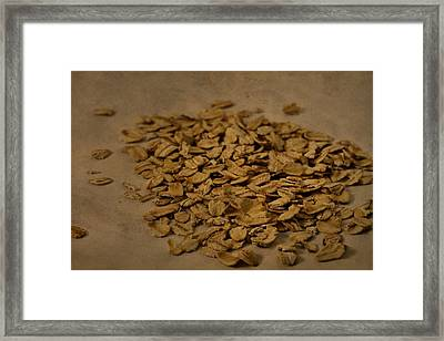 Oatmeal For Breakfast Framed Print by Dan Sproul