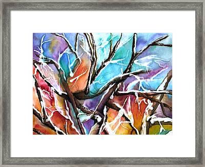 Oaxie Framed Print