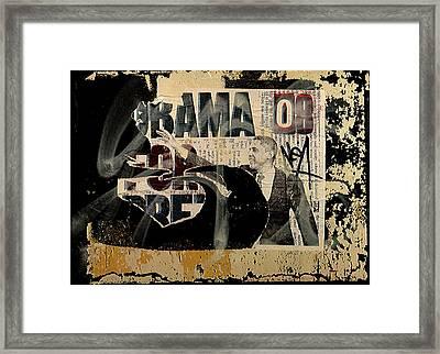 Obama '08 Framed Print