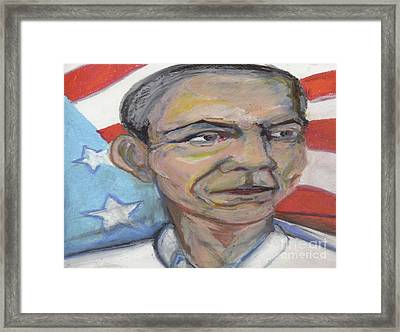 Obama 2012 Framed Print