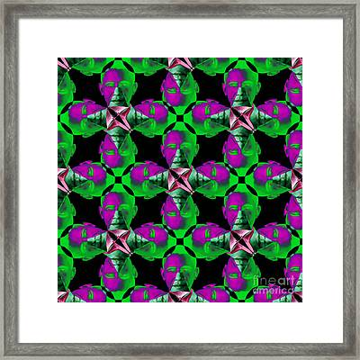 Obama Abstract 20130202p128 Framed Print