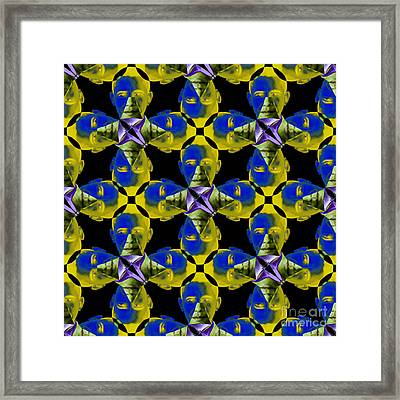 Obama Abstract 20130202p55 Framed Print by Wingsdomain Art and Photography