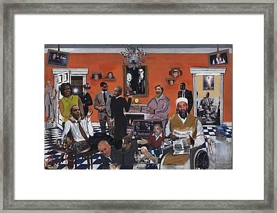 Obama Nation Framed Print by Reginald Williams