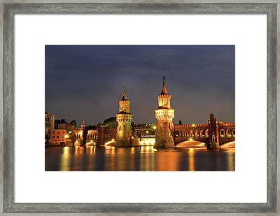 Oberbaumbrucker Framed Print by Nathan Wright