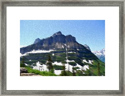 Oberlin Mountain Framed Print by Kevin Bone