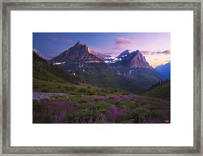 Oberlin Twilight Framed Print by Peter Coskun