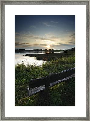 Obermooser Teich No 1 Framed Print by Andy-Kim Moeller