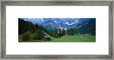 Oberndorf Tirol Austria Framed Print by Panoramic Images
