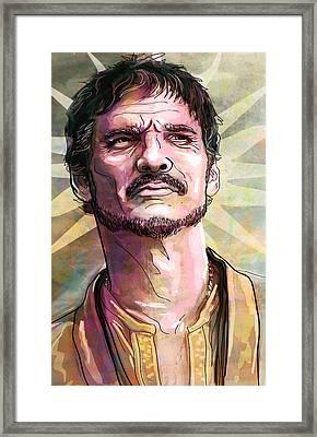 Oberyn Framed Print by Jeremy Scott