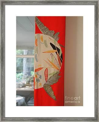 Obi  Framed Print by Nancy Kane Chapman