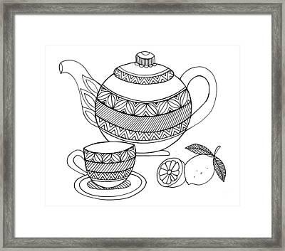 Object Tea Kettle Framed Print