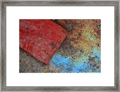 Objective 3 Framed Print