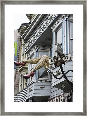 Obligatory S F Image Framed Print by David Bearden