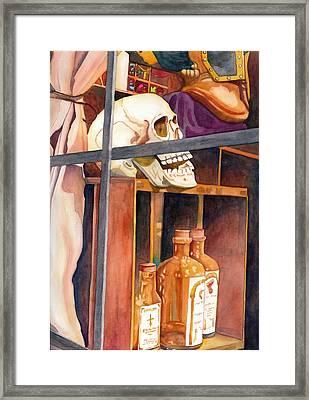 Obscura Fenestra Framed Print by Gerald Carpenter