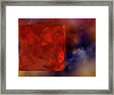Obscure Blessings Framed Print by Jeff Iverson