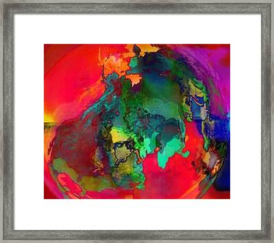 Obscurity Framed Print by Kelly McManus