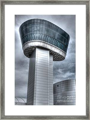 Framed Print featuring the photograph Observation Tower by ELDavis Photography
