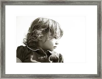 Observations Of A Child Framed Print