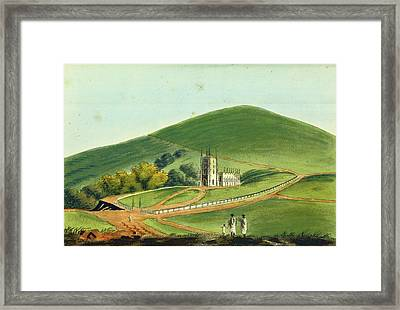 Observations On The Neilgherries, India Framed Print by Litz Collection