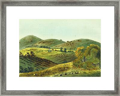 Observations On The Neilgherries Framed Print by Litz Collection