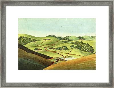 Observations On The Neilgherries, Ootacamund Framed Print by Litz Collection