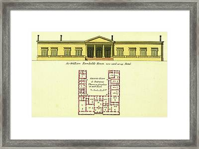 Observations On The Neilgherries, Rumbolds House Framed Print by Litz Collection