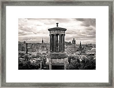Observing Edinghburgh  Framed Print by Scott Moore