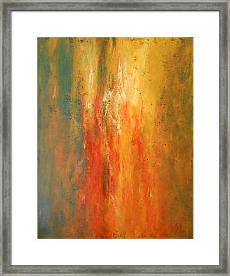 Obsession Framed Print by Jane  See