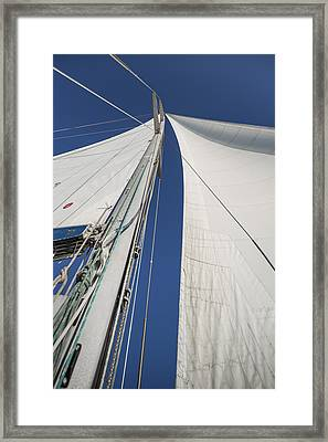 Obsession Sails 2 Framed Print by Scott Campbell