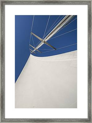 Obsession Sails 4 Framed Print