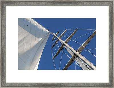 Obsession Sails 6 Framed Print by Scott Campbell