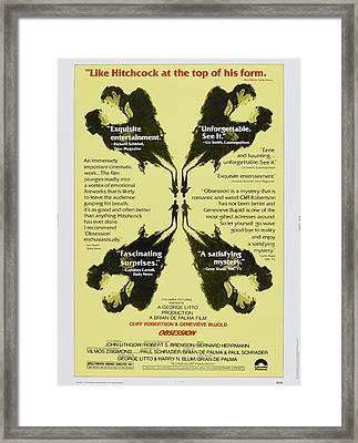 Obsession, Us Poster Art, 1976 Framed Print