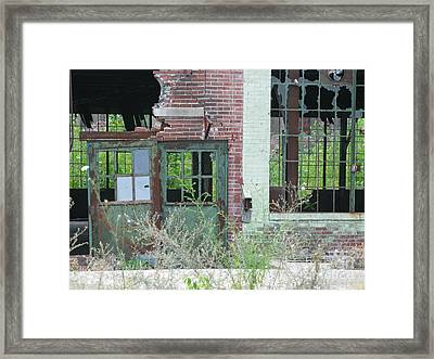 Framed Print featuring the photograph Obsolete by Ann Horn