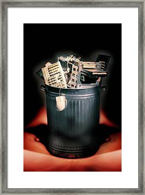 Obsolete Hardware Framed Print by Mark Sykes