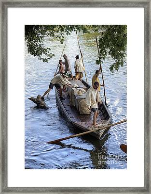 Framed Print featuring the photograph Obstacle Navigation by Pete Hellmann