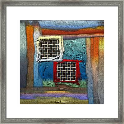 Obstructed Ocean View... Framed Print