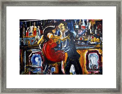 Obvious Intent Framed Print