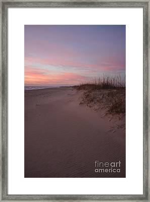 Obx Serenity 2 Framed Print by Tony Cooper