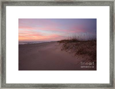 Obx Serenity Framed Print by Tony Cooper