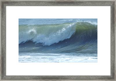 Oc Big Surf Framed Print