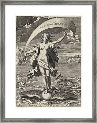 Occasion, Aegidius Sadeler Framed Print