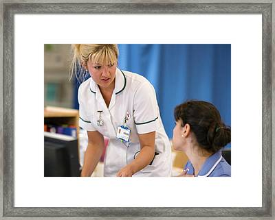 Occupational Therapist Framed Print