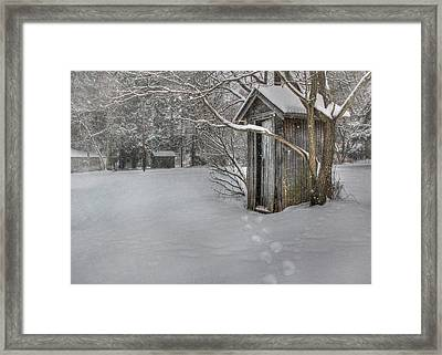 Occupied Framed Print by Lori Deiter