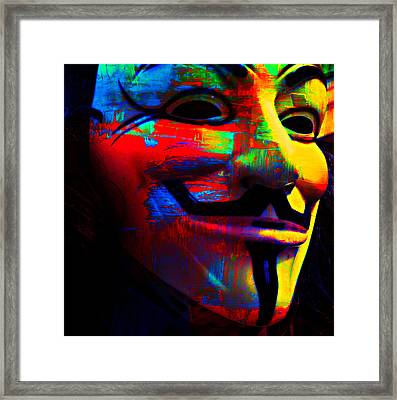Occupy Art Framed Print by Sherry Dooley
