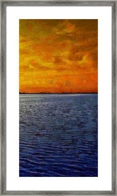 Ocean 11 Framed Print